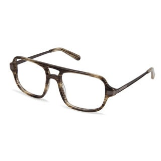 Cynthia Rowley Eyewear CR6000 No. 97 Green Horn Aviator Plastic Eyeglasses