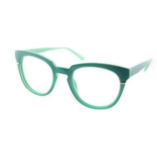 Cynthia Rowley Eyewear CR5027 No. 05 Mint Round Plastic Eyeglasses