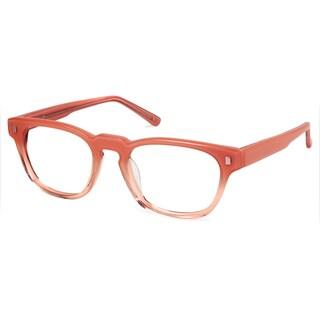 Cynthia Rowley Eyewear CR 5029 No. 49 Fade Blush Square Plastic Eyeglasses