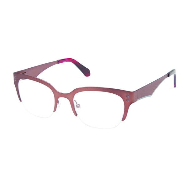 33d859abae4a Shop Cynthia Rowley Eyewear CR 5032 No. 26 Satin Brown Square Metal  Eyeglasses - Free Shipping Today - Overstock.com - 11206435