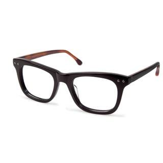 Cynthia Rowley Eyewear CR5003 No. 62 Black Square Plastic Eyeglasses