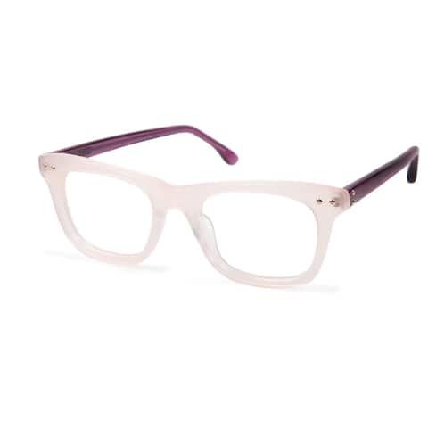 Cynthia Rowley Eyewear CR5003 No. 62 Blush Square Plastic Eyeglasses