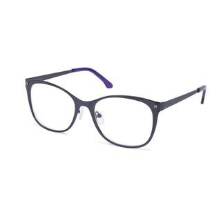 Cynthia Rowley Eyewear CR5003 No. 87 Navy Square Metal Eyeglasses