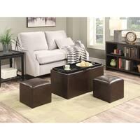 Convenience Concepts Designs2Go Sheridan Storage Bench