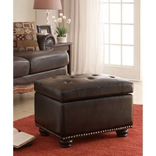 living room storage ottoman. Convenience Concepts Designs4Comfort 5th Avenue Storage Ottoman Ottomans  For Less Overstock com