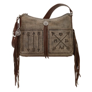 American West Cross My Heart Collection Shoulder Bag