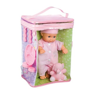 Toysmith Deluxe Baby Ensemble 11.5-inch Doll Playset