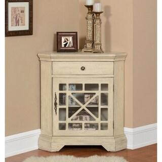 Somette Ivory 1-Door Cabinet
