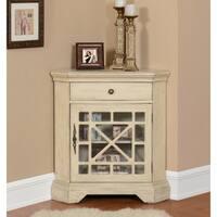 Shop Grayson Corner Floor Cabinet By Elegant Home Fashions