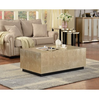 Amory Tan Square Coffee Table 17269316 Overstock Com