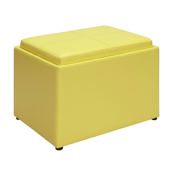 Convenience Concepts Designs4Comfort Accent Storage Ottoman   Free Shipping  Today   Overstock.com   18195410