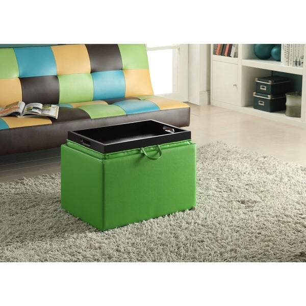 Convenience Concepts Designs4Comfort Accent Storage Ottoman - Free Shipping  Today - Overstock.com - 18195410 - Convenience Concepts Designs4Comfort Accent Storage Ottoman - Free