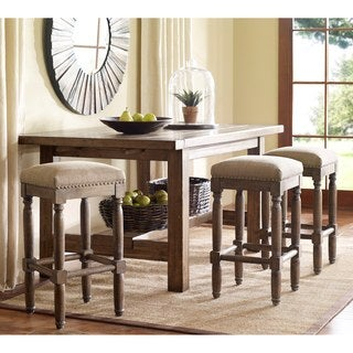 Madison Park Tiver Stool (Set of 2) --Sand Color