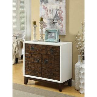 Somette Mocha 1-drawer Cabinet