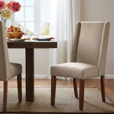 "Madison Park Victor Wing Dining Chairs (Set of 2) - 18.5""w x 27""d x 39.25""h (2)"
