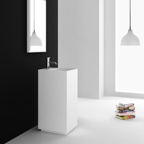 Fine Fixtures Springhill White Pedestal Sink