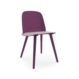 Proov Scandinavian Minimalistic Purple Side Chair (Set of 2)