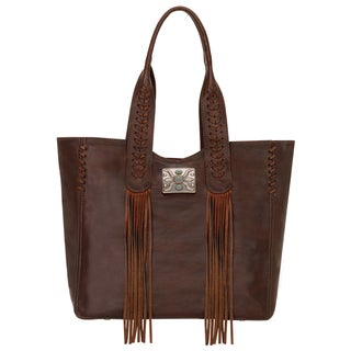 American West Mohave Canyon Collection Chestnut Tote Bag