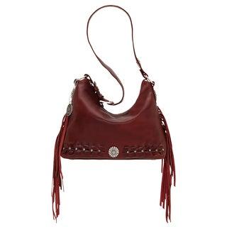 American West River Ranch Collection Garnet Shoulder Bag