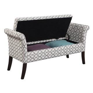 Convenience Concepts Designs4Comfort Garbo Storage Bench