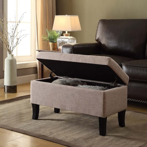Buy Tan Storage Ottoman Online At Overstock Our Best