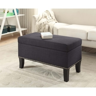 Convenience Concepts Designs4Comfort Winslow Storage Ottoman