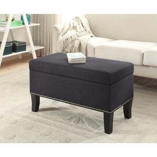 Convenience Concepts Designs4Comfort Winslow Storage Ottoman - Thumbnail 0
