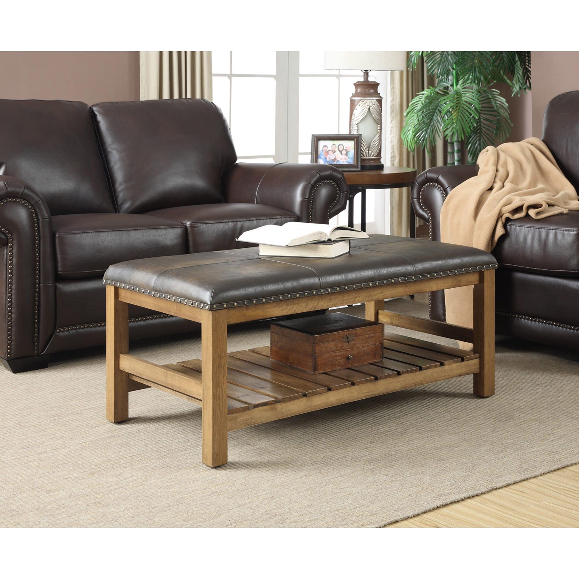 Convenience Concepts Designs4Comfort Tucson Ottoman Bench...
