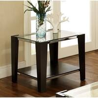 Clay Alder Home Anderson Plymouth End Table with Slate Inset