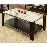 Greyson Living Lancing Glass Top Coffee Table