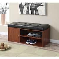 Convenience Concepts Designs4Comfort Liberty Storage Bench