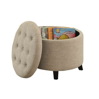 Convenience Concepts Designs4Comfort Round Ottoman