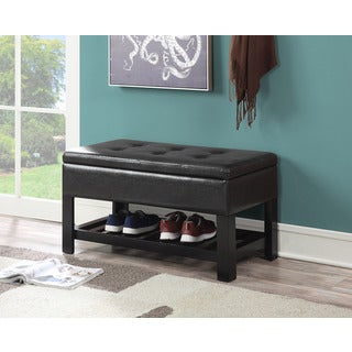 Convenience Concepts Designs4Comfort Woodland Storage Ottoman