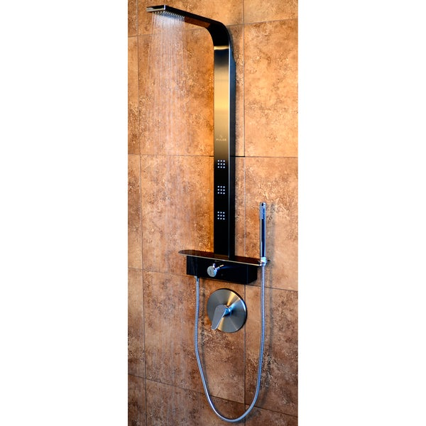 Pulse Showers Pacifica ShowerSpa Massage Panel with Hand Sprayer