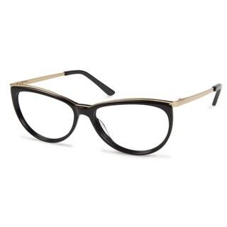 Cynthia Rowley Eyewear CR5018 No. 18 Black Round Metal Eyeglasses