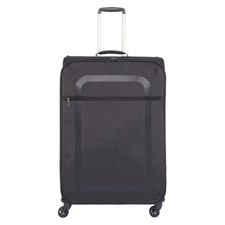 Delsey Dauphine Black 27.5-inch Spinner Upright Suitcase