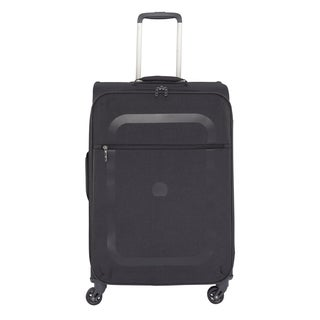 Delsey Dauphine Black 23-inch Spinner Upright Suitcase