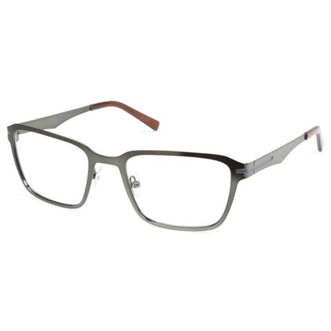 Cynthia Rowley Eyewear CR 6020 No. 37 Matte Hunter Rectangle Metal Eyeglasses