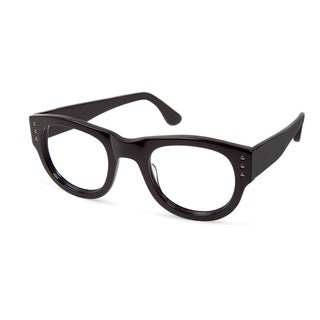 Cynthia Rowley Eyewear CR5014 No. 78 Black Round Plastic Eyeglasses