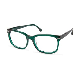 Cynthia Rowley Eyewear CR5013 No. 33 Emerald Rectangle Plastic Eyeglasses