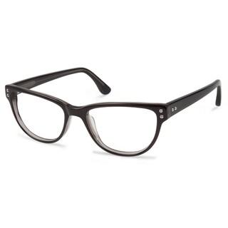 Cynthia Rowley Eyewear CR5022 No. 45 Smoke Round Plastic Eyeglasses