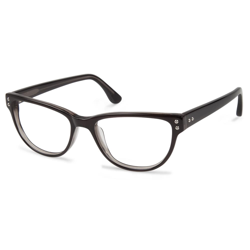 a0d8490b17 Cynthia Rowley Eyewear CR5022 No. 45 Smoke Round Plastic Eyeglasses ...