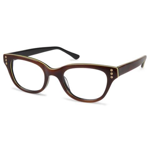 Cynthia Rowley Eyewear CR5020 No. 22 Tortoise Round Plastic Eyeglasses