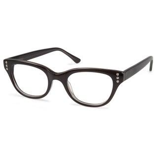 Cynthia Rowley Eyewear CR5020 No. 22 Smoke Round Plastic Eyeglasses