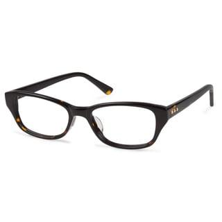 Cynthia Rowley Eyewear CR5019 No. 91 Tortoise Round Plastic Eyeglasses