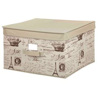 The Paris Collection By Home Basics Large Storage Box
