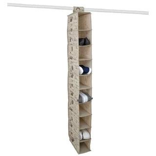 The Paris Collection By Home Basics 10-Pocket Shelf Organizer