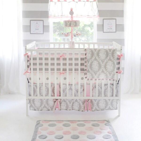 My Baby Sam Olivia Rose Crib Bumper Free Shipping