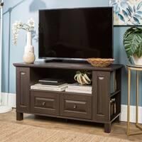 """44"""" TV Stand Storage Console - Espresso - 44 x 16 x 23h"""