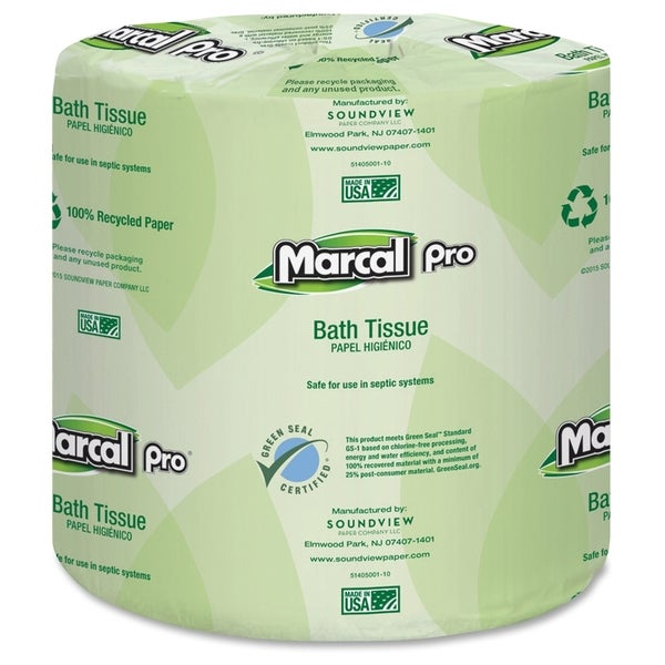 Marcal Pro Two-ply Bath Tissue Pack - (48 PerCarton)